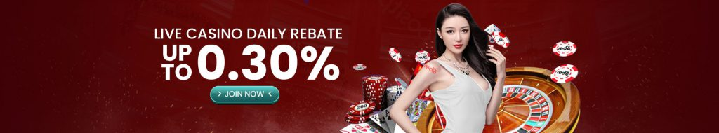 live casino promotions