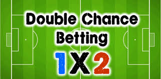 double chance 1x2 - types of bet